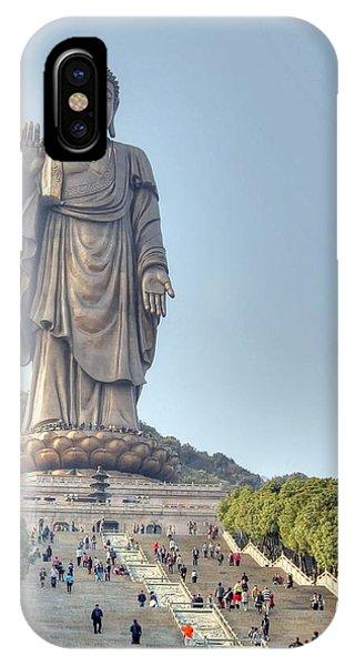 Giant Buddha IPhone Case