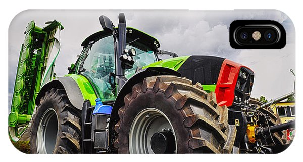 Giant Farming Tractor Latest Model IPhone Case