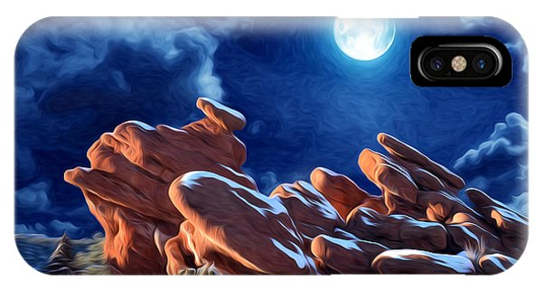 Giant Footprints At The Garden Of The Gods IPhone Case