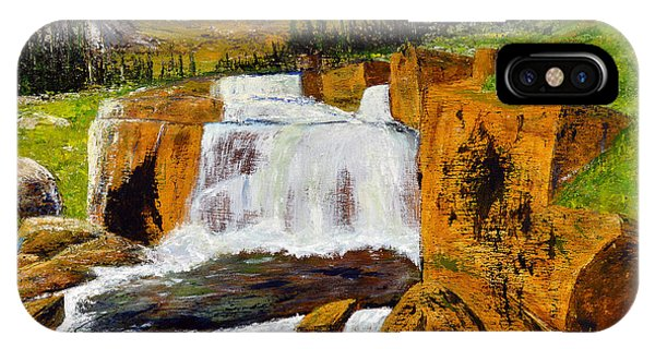 Giant Steps Waterfall IPhone Case