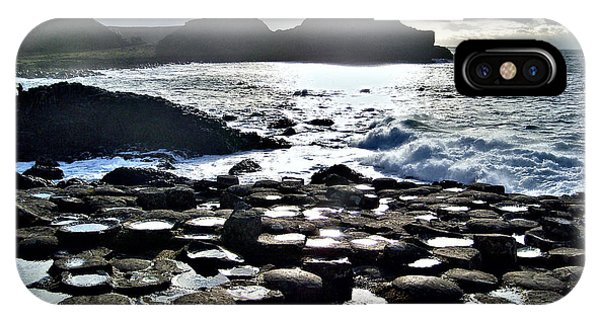 Giant's Causeway Sunset IPhone Case
