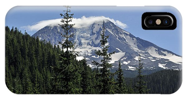 Gifford Pinchot National Forest And Mt. Adams IPhone Case