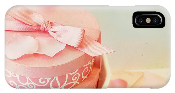 Gift Boxes And Rose Petals IPhone Case