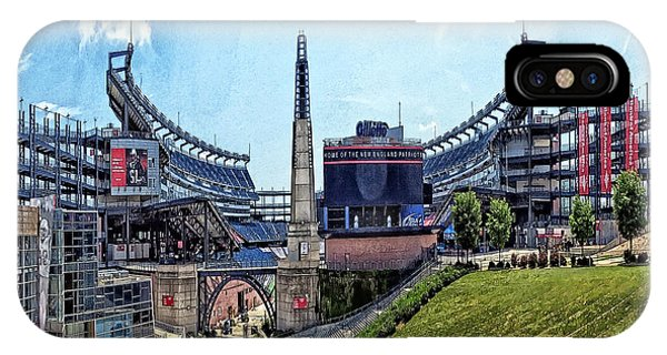 Gillette Stadium  Home Of The New England Patriots IPhone Case