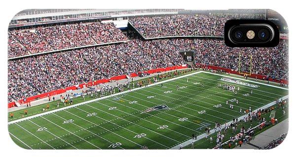 Gillette Stadium IPhone Case