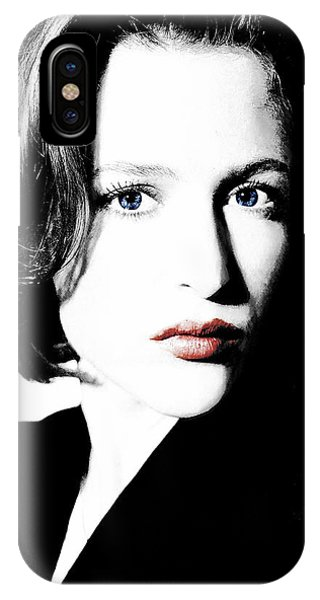 Gillian Anderson IPhone Case