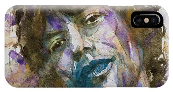 Faces iPhone Case - Gimme Shelter by Paul Lovering