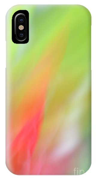 Ginger Flower Abstract 2 IPhone Case