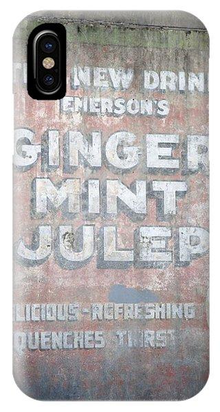 Ginger-mint Julep Phone Case by Pamela Schreckengost