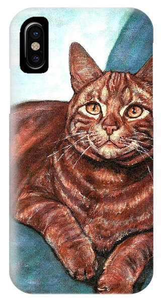 Ginger Tabby IPhone Case