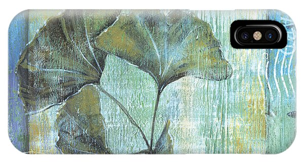Plants iPhone Case - Gingko Spa 2 by Debbie DeWitt