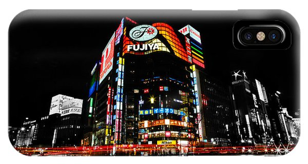 Ginza At Night IPhone Case
