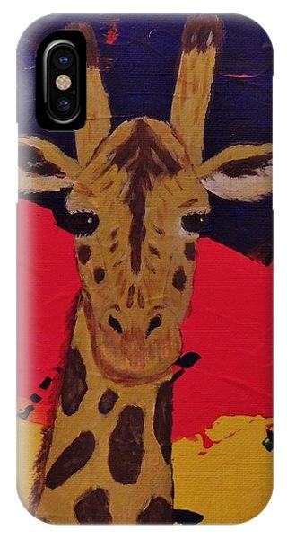 Giraffe In Prime 2 IPhone Case
