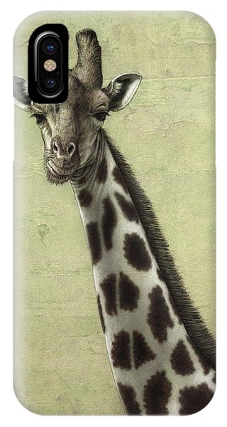 iPhone Case - Giraffe by James W Johnson