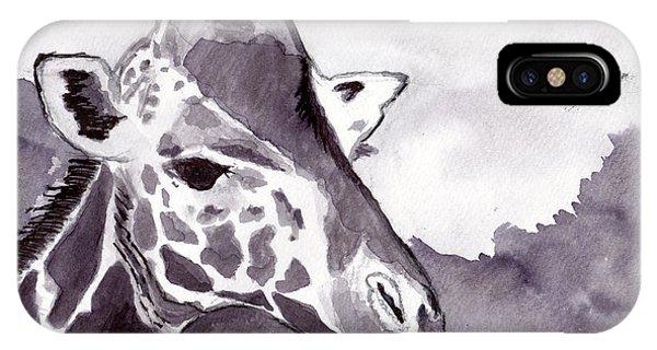 iPhone Case - Giraffe by Michael Rados
