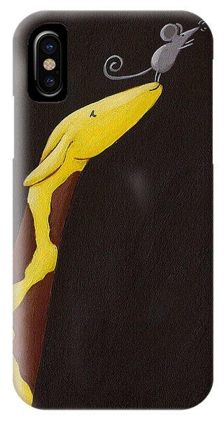 Giraffe Nursery Art Phone Case by Christy Beckwith