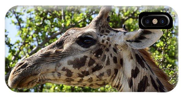 Giraffe Profile IPhone Case