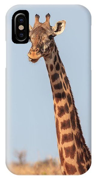 Giraffe Tongue IPhone Case