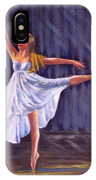 Girl Ballet Dancing IPhone Case
