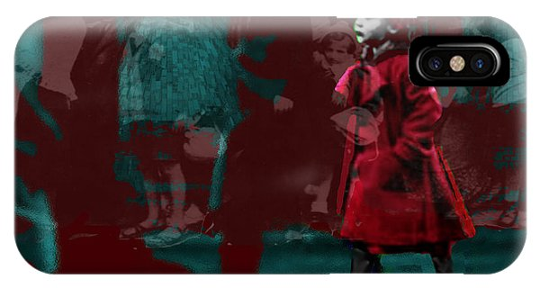 Girl In The Blood-stained Coat IPhone Case