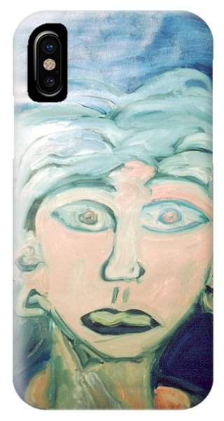 Girl With Ear Rings IPhone Case