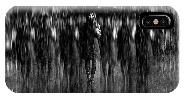 Repeat iPhone Case - Girls In The Rain by Antonyus Bunjamin (abe)