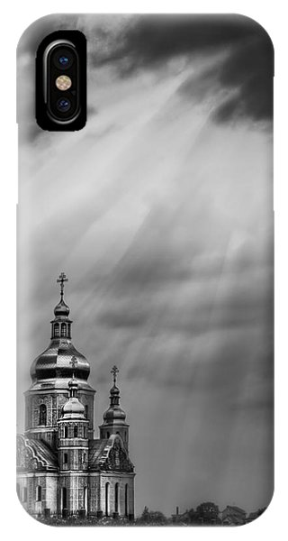 Storm iPhone Case - Give Me A Sign by Evelina Kremsdorf