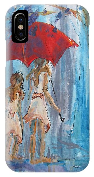 Give Me Shelter IPhone Case