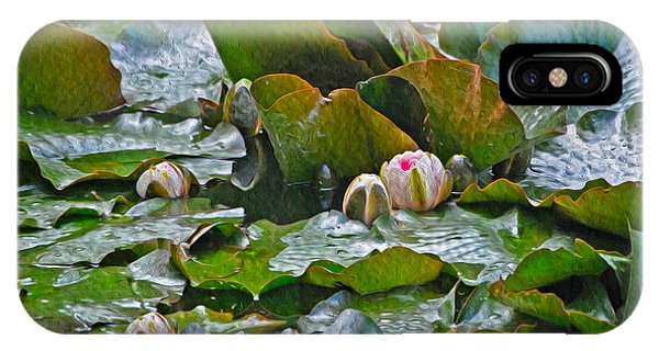 Giverny Early Lilies IPhone Case
