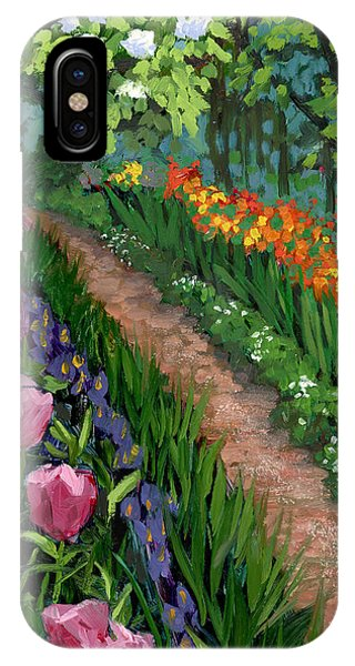 Giverny Garden IPhone Case