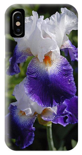 Giverny Iris IPhone Case