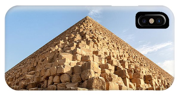 Pharaoh iPhone Case - Giza Pyramid Detail by Jane Rix