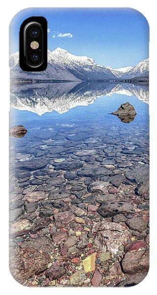 Glacial Lake Mcdonald IPhone Case
