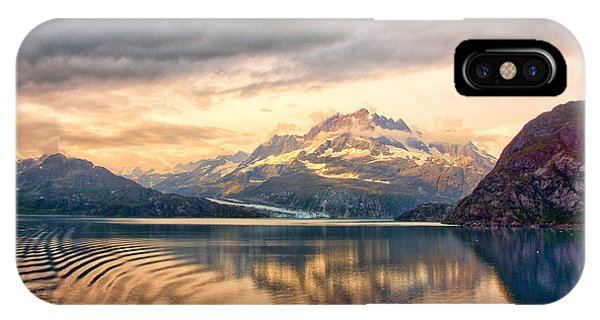 Glacier Bay Reflections IPhone Case