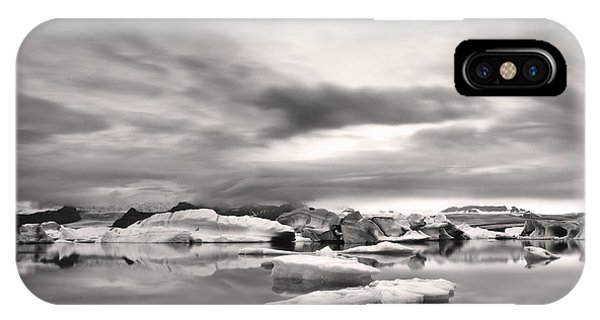 Glacier Lagoon II IPhone Case