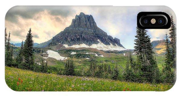 Glacier Meadows IPhone Case