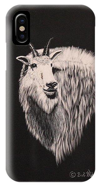 Glacier Park Goat IPhone Case