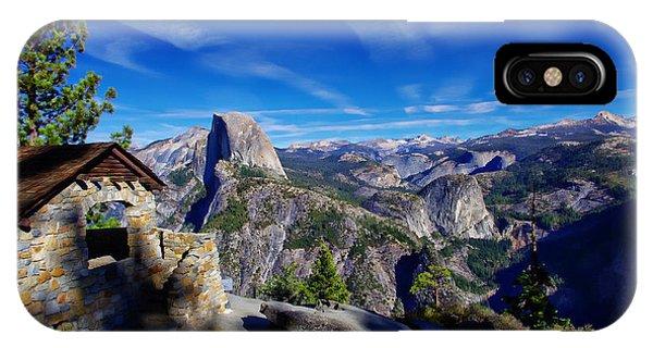 Glacier Point Yosemite National Park IPhone Case