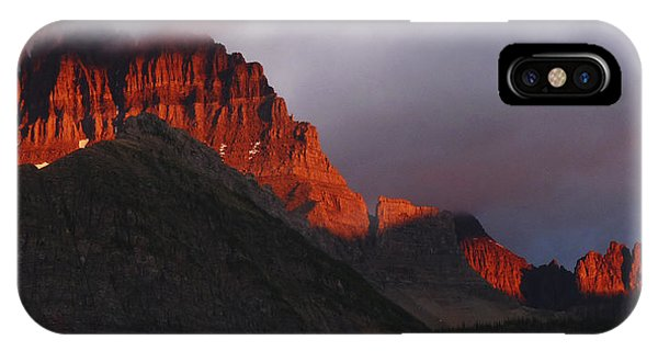 Glacier Sunrise IPhone Case