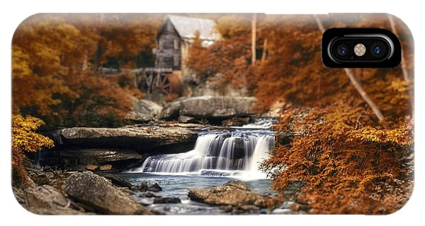 Glade Creek Mill Selective Focus IPhone Case