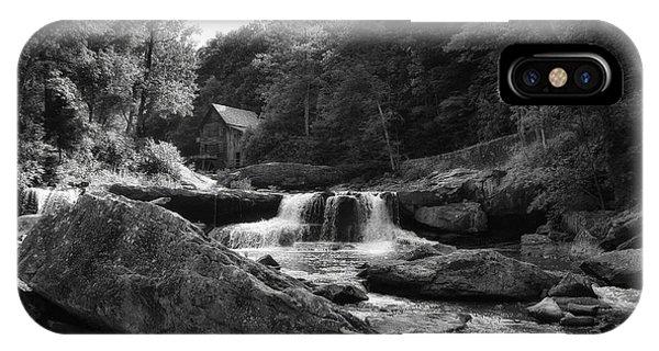 Glade Creek Waterfall IPhone Case