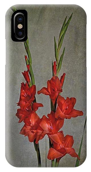 Gladiolus I IPhone Case