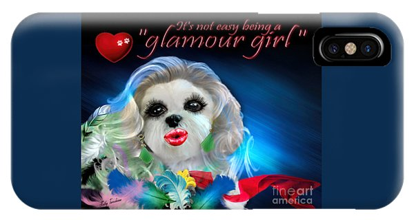 Glamour Girl-3 IPhone Case