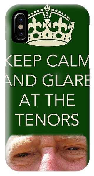 Glare At The Tenors IPhone Case