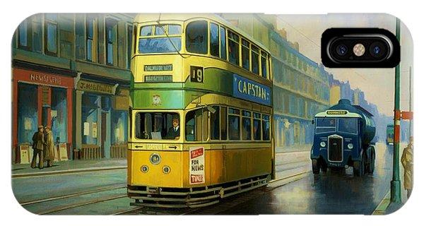 Glasgow Tram. IPhone Case
