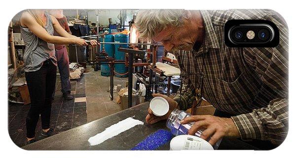 Glass Art Process Phone Case by Paul Indigo