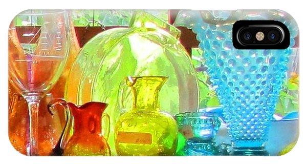 Glass In Sunlight Phone Case by Jeanne Porter