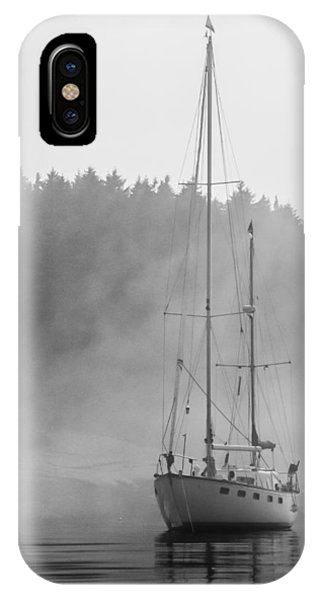 Glass Lady In The Fog IPhone Case