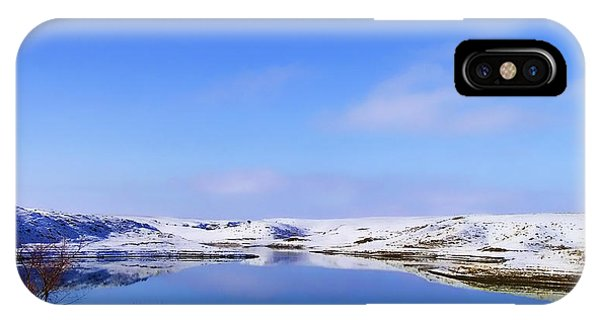 Glass Lake IPhone Case