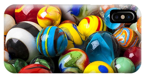 Novelty iPhone Case - Glass Marbles by Garry Gay